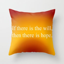 If There Is Will Throw Pillow