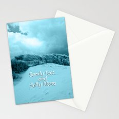 Sand and Kisses Stationery Cards