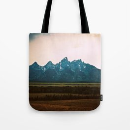 Tetons Tote Bag