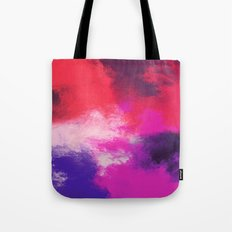 Painted Clouds Tote Bag