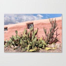 Hacienda Wall Canvas Print