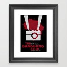THE BANG BANG CLUB Framed Art Print