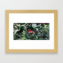 An richt elves 1 (le royaume des elfes 1) Framed Art Print