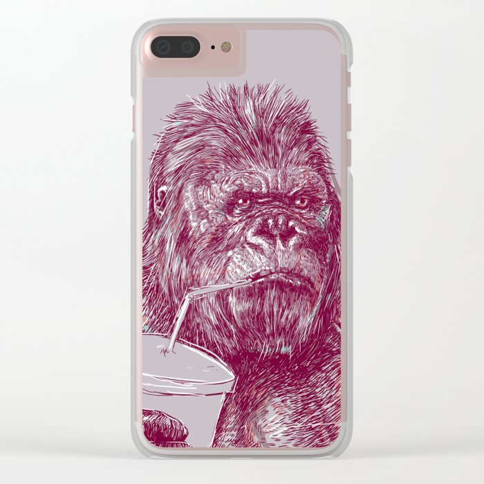 Kingkong Clear iPhone Case