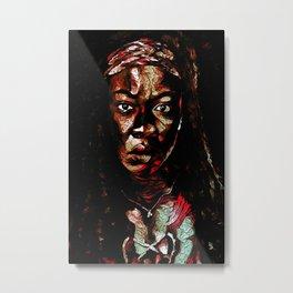 Michonne Metal Print