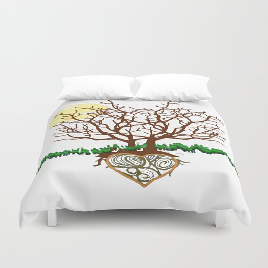 The Loving Tree Duvet Cover
