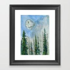 The Endor Morning Sky Framed Art Print