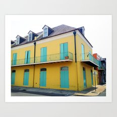 New Orleans Quarter Art Print