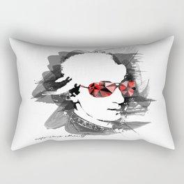 Wolfgang Amadeus Mozart Rectangular Pillow