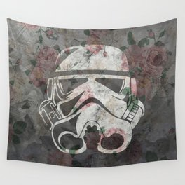 Floraltrooper Wall Tapestry