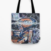 angels Tote Bags featuring Angels by Prime Vice