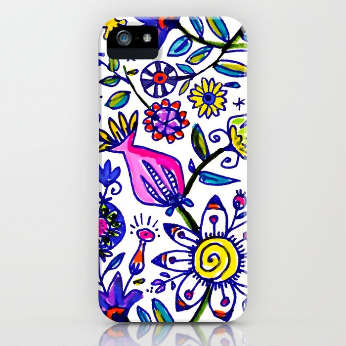 springtime flurry iPhone Case
