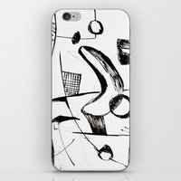 sketch iPhone & iPod Skins featuring Sketch by Alexander Babayan