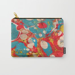 Abstract Painting ; Aurora Carry-All Pouch