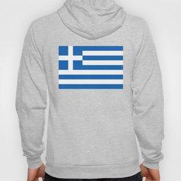 Flag of Greece, High Quality image Hoody
