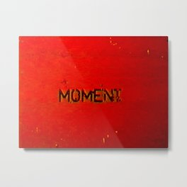 shifted moment Metal Print