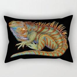 Iguana 2 Rectangular Pillow