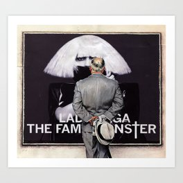 Considering Fame Art Print
