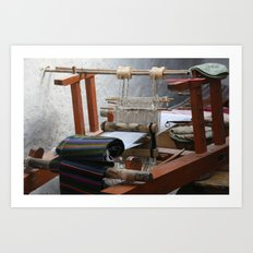 Fiber of Tibet Art Print