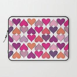 colerfull hearts Laptop Sleeve
