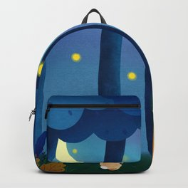 Forest Animals At Night Backpack