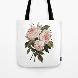 Three English Roses Tote Bag