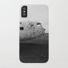 Iceland Plane Wreckage DC-3 Slim Case iPhone X