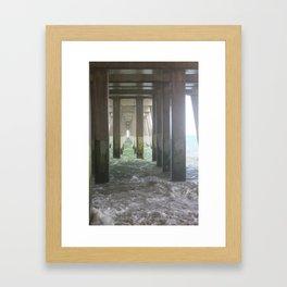 High Tide Pier [2] Framed Art Print