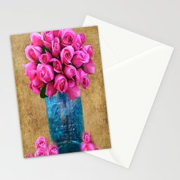 BALL MASON JAR AND ROSES Stationery Cards