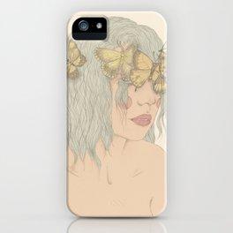 Pálido Invierno iPhone Case