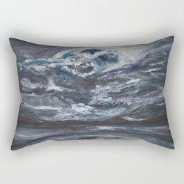 blame it on the full moon Rectangular Pillow