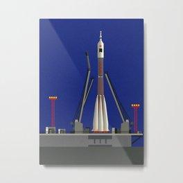 Sojus-U31 Baikonur Metal Print