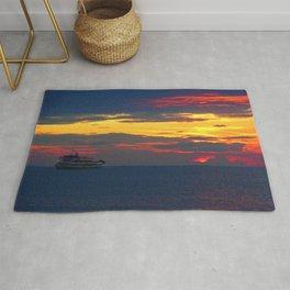 Sunset Light Rug