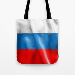 Russian Federation Flag Tote Bag