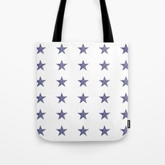 50 Blue Stars Tote Bag