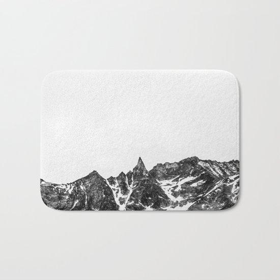 Minimalist Mountain Bath Mat