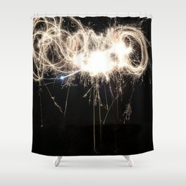 Lights and Magic Shower Curtain