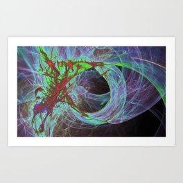 color burn2 Art Print