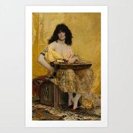 Salome by Henri Regnault, 1870 Art Print