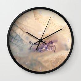 Flower 1 MacroPhotography Wall Clock