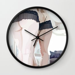 Bare Reflections Wall Clock