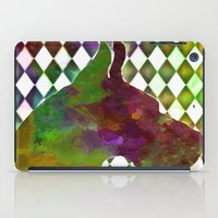 great dane iPad Cases featuring Great Dane Jester by Erin Conover