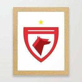 Dinamo Bucharest Icon Framed Art Print