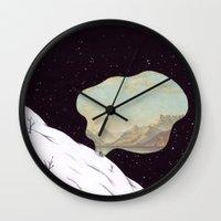 kingdom hearts Wall Clocks featuring Kingdom by Matthias Leutwyler