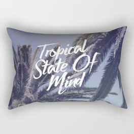 Tropical State Of Mind Rectangular Pillow