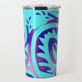 Tribal Manta Ray Travel Mug
