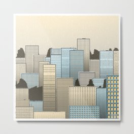 Skyline #308,896,472 Metal Print