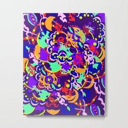 Digital Paint Metal Print