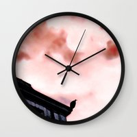 hell Wall Clocks featuring - hell - by Digital Fresto