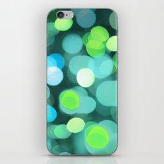 Cyan Light iPhone & iPod Skin